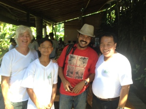 Eco Club Partners with Kadek Gunarta at Yoga Barn, Ubud.