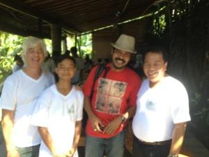 Eco Club Partners with Kadek Gunarta at Yoga Barn, Ubud.