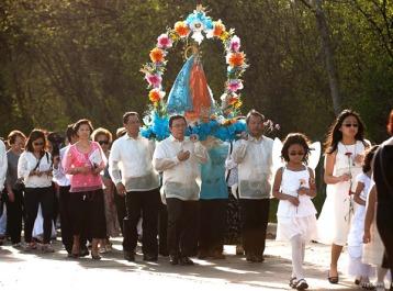 Flores De-Mayo Procession