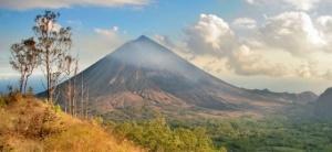 Mt. Inerie Volcano