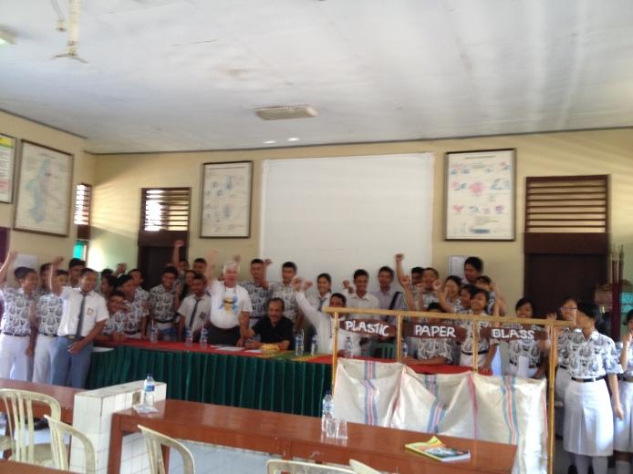 Peresmian Eco Club di SMAN 1 Semarapura.