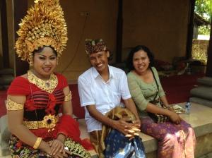Dewi with Kawi and Uki