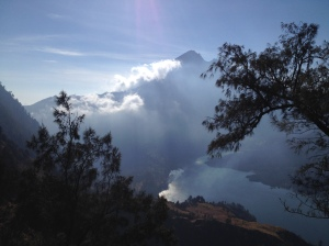 The Summit of Rinjani