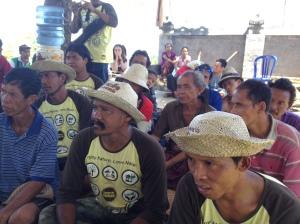 Sonang Village B farmers