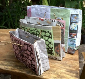 Reycycled Paper for Bags